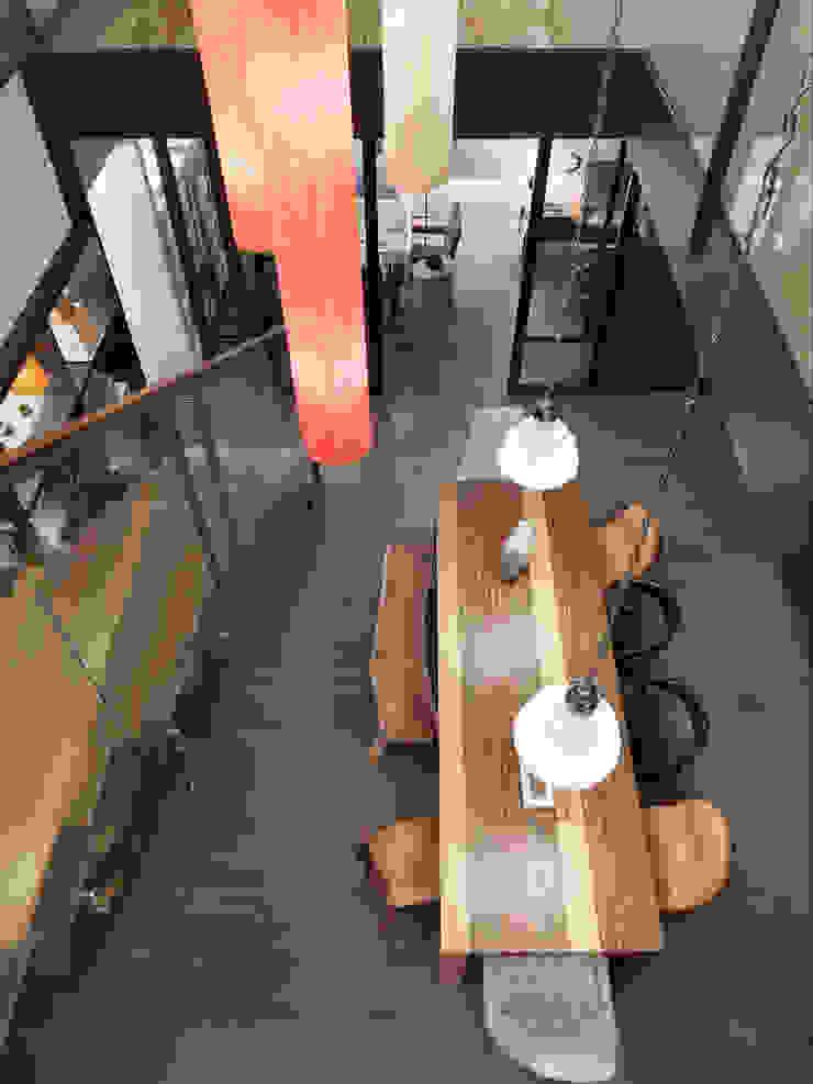 樓中樓住宅 Duplex Residence 何侯設計 Ho + Hou Studio Architects 餐廳