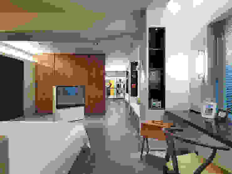 樓中樓住宅 Duplex Residence 何侯設計 Ho + Hou Studio Architects 臥室
