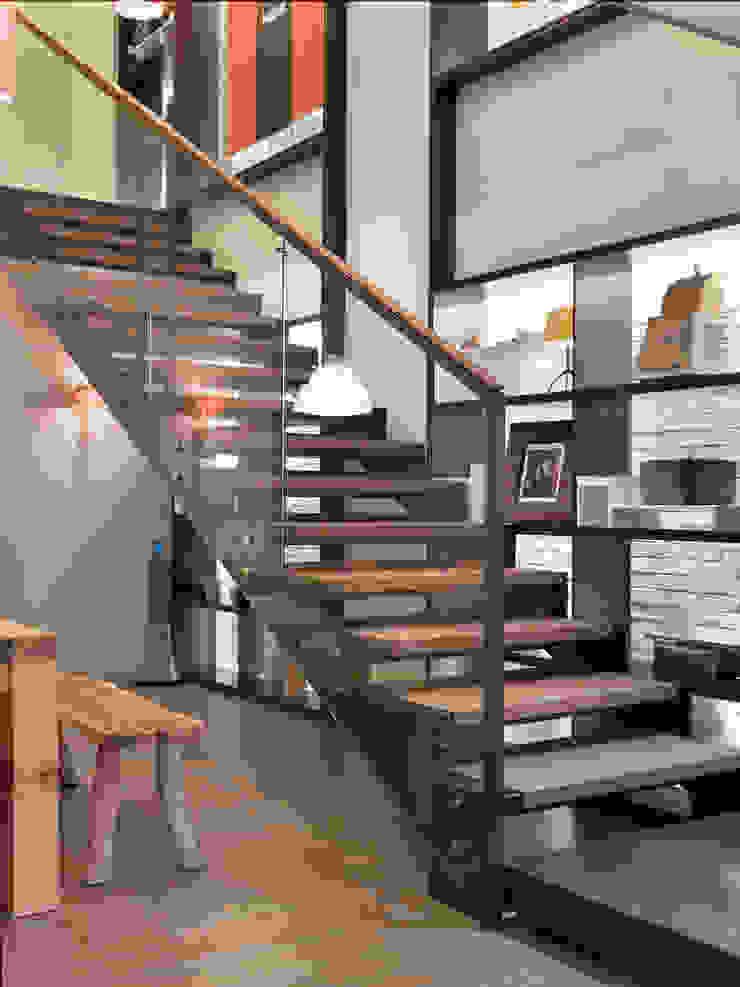 樓中樓住宅 Duplex Residence 何侯設計 Ho + Hou Studio Architects 樓梯