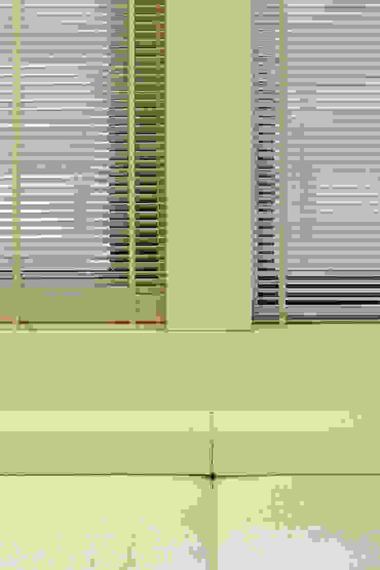 樓中樓住宅 Duplex Residence 何侯設計 Ho + Hou Studio Architects 牆面