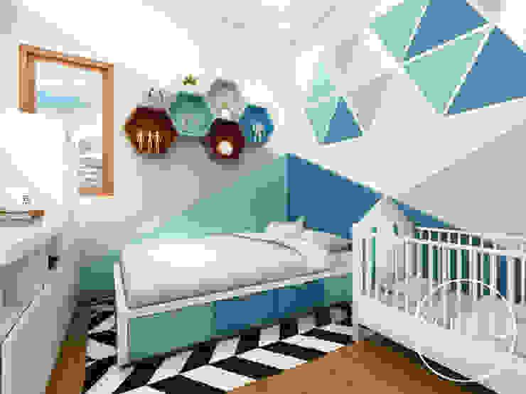 kamar tidur anak Kamar Tidur Modern Oleh viku Modern Kayu Wood effect