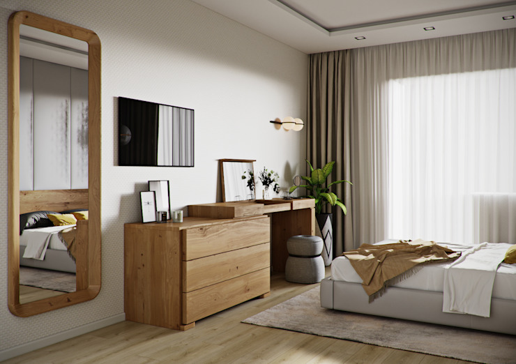 Be In Art Eclectic style bedroom