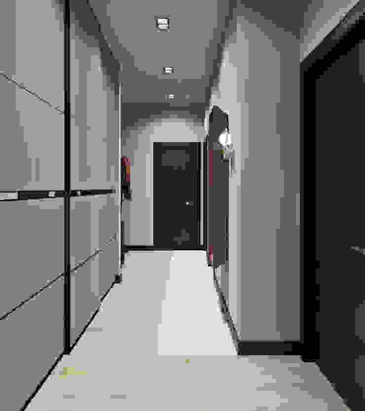 Be In Art Ingresso, Corridoio & Scale in stile eclettico