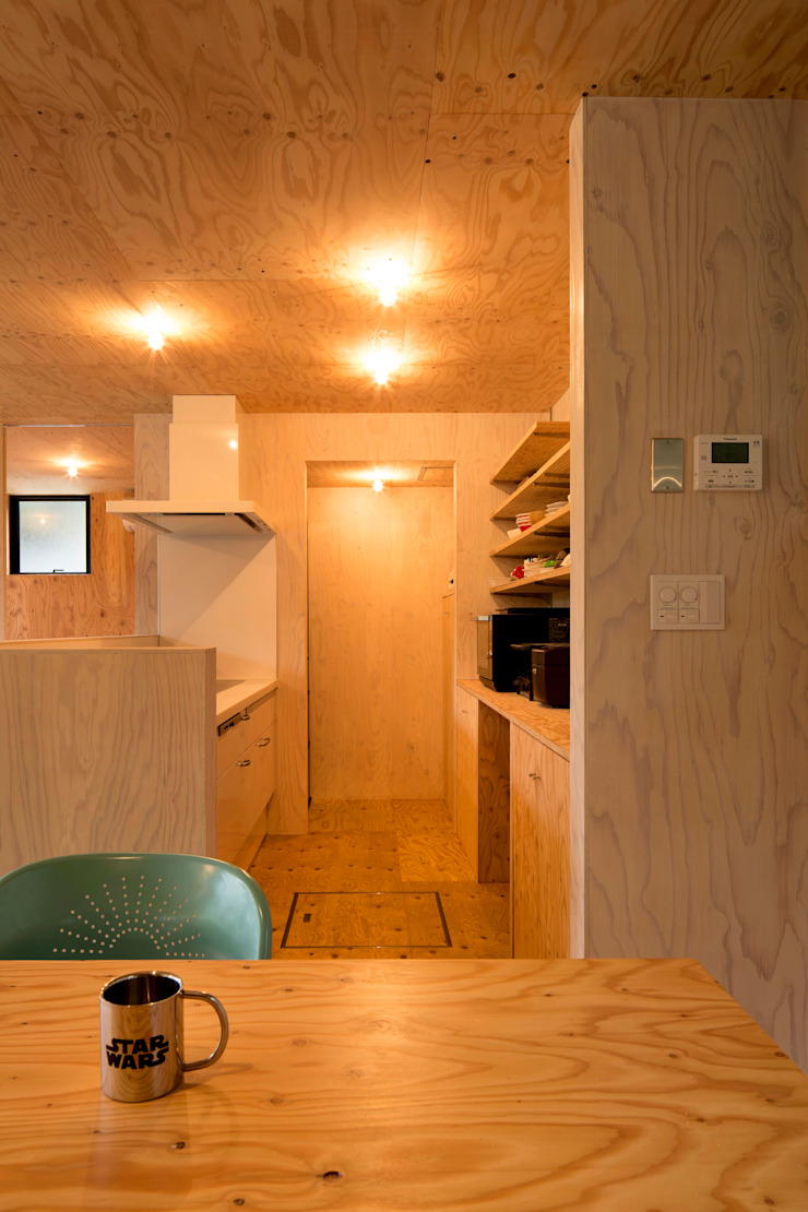 HOUSE-K オリジナルデザインの キッチン の N.A.O オリジナル