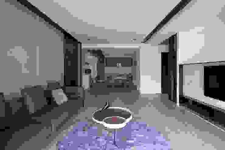 公共空間 现代客厅設計點子、靈感 & 圖片 根據 極簡室內設計 Simple Design Studio 現代風