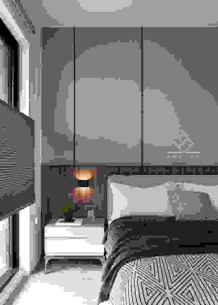 主臥床頭設計 根據 極簡室內設計 Simple Design Studio 現代風