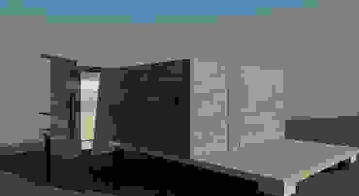 vista exterior lateral de Incove - Casas de madera minimalistas