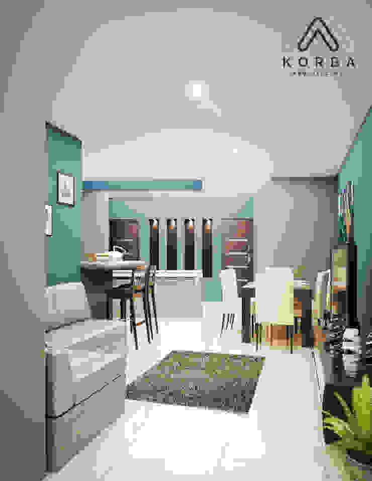 by KORBA Arquitectos Minimalist Concrete