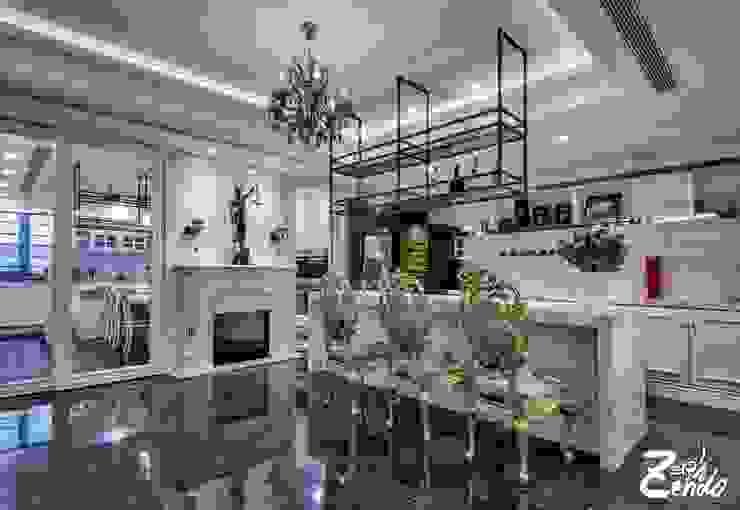 山之音 – 住宅空間 Zendo 深度空間設計 客廳