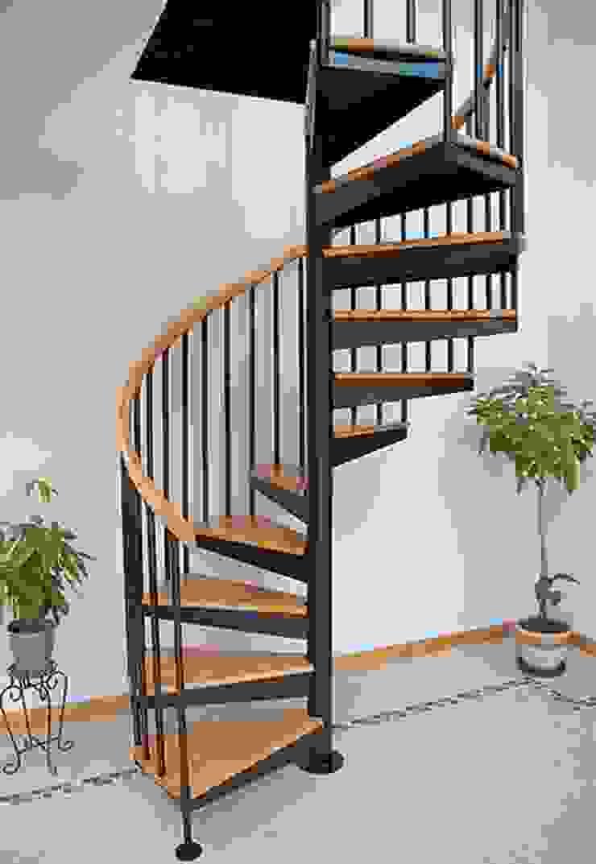 Học hỏi cách thiết kế cầu thang xoắn ốc an toàn và đẹp mắt bởi Kiến Trúc Xây Dựng Incocons