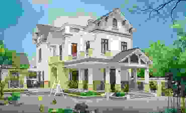 Thi công trọn gói biệt thự ở Phú Thọ bởi Xây nhà trọn gói