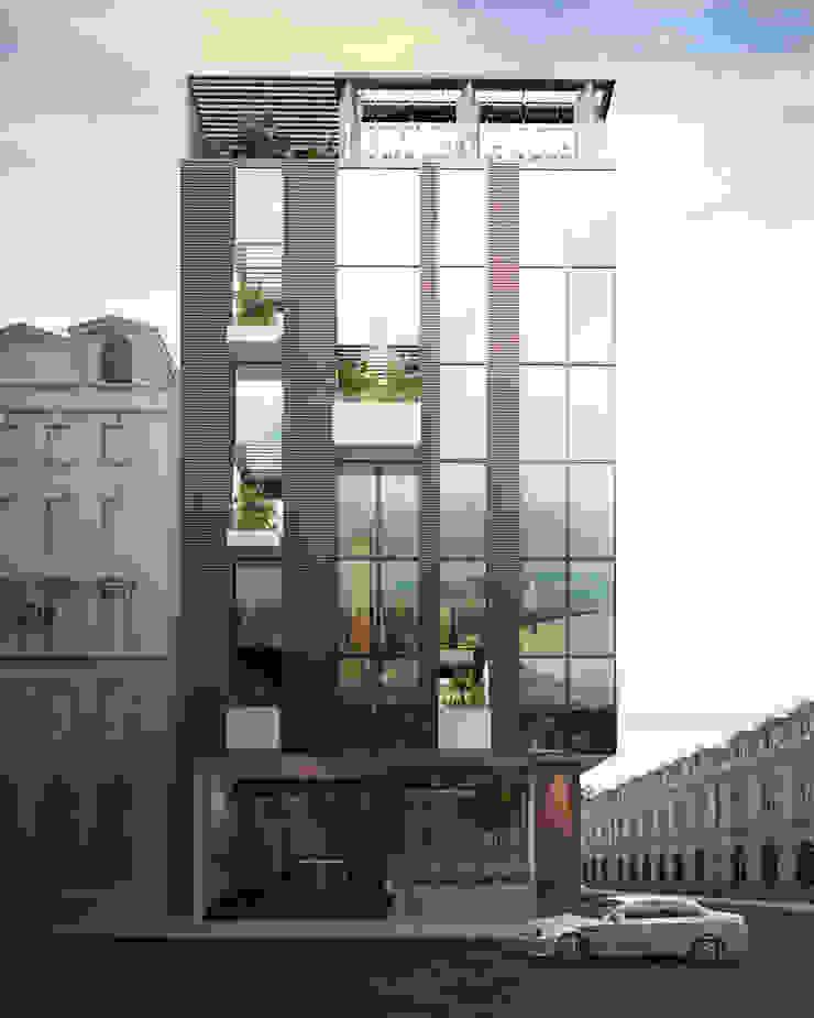 KHÁCH SẠN 7 TẦNG – 193 VĂN CAO – HẢI PHÒNG bởi Kiến trúc Việt Xanh