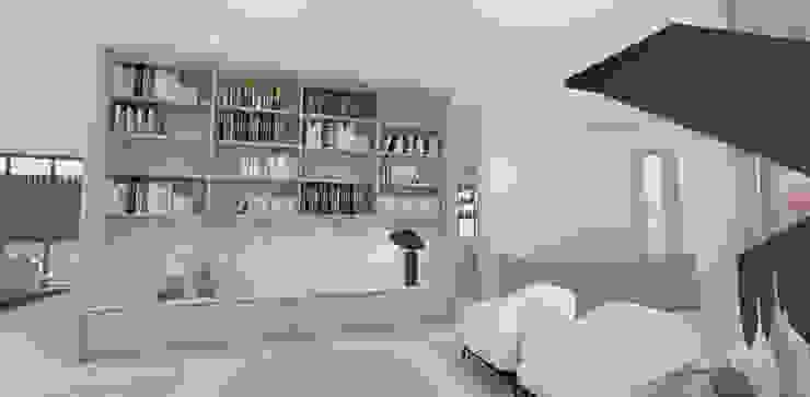 Library Lounge by Lijn Ontwerp Scandinavian Marble