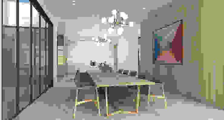 Dining Room Scandinavian style dining room by Lijn Ontwerp Scandinavian MDF