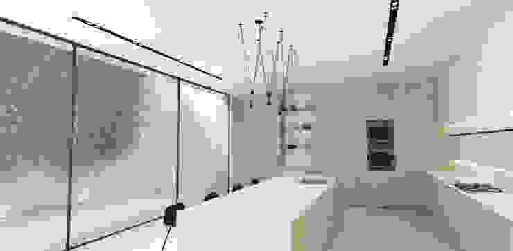 Kitchen by Lijn Ontwerp Scandinavian Wood Wood effect