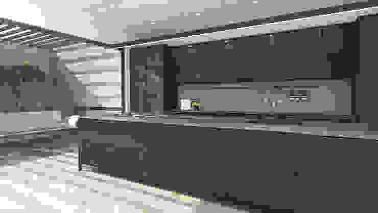 Kitchen by Lijn Ontwerp Minimalist MDF