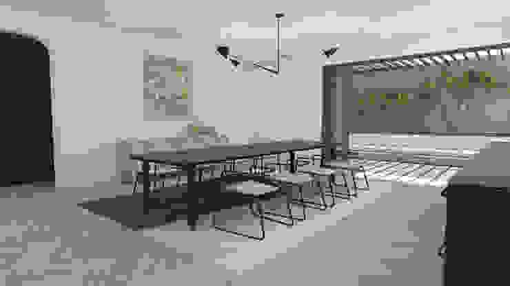 Dining Area by Lijn Ontwerp Minimalist MDF