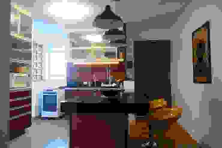 Nowoczesna kuchnia od Arquitetura FPA Nowoczesny