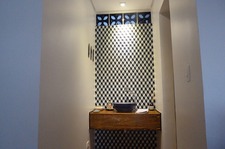 Nowoczesna łazienka od Arquitetura FPA Nowoczesny
