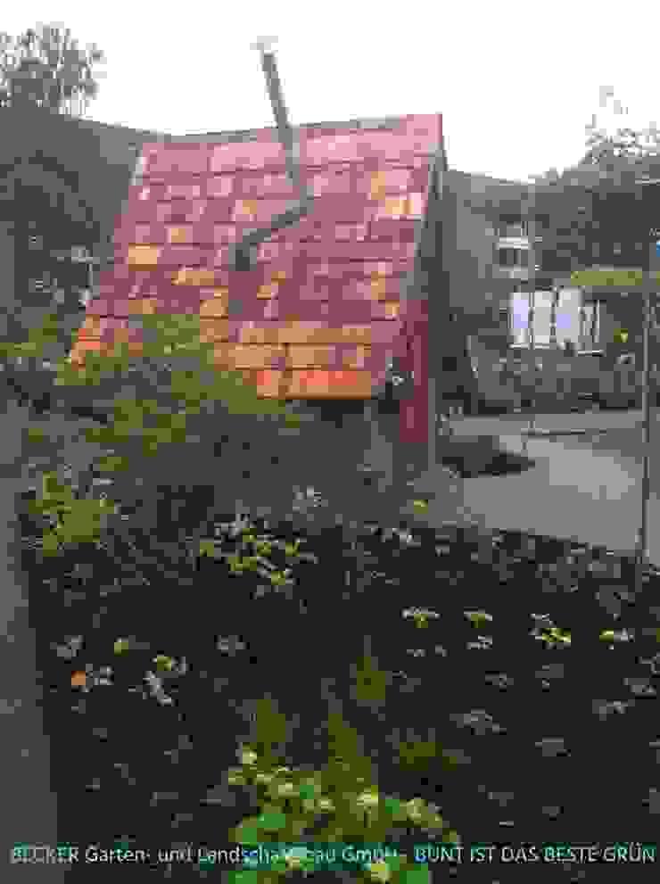 Jardines de estilo ecléctico de BECKER Garten- und Landschaftsbau GmbH Ecléctico