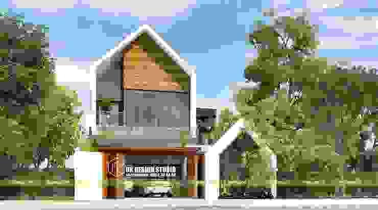 Biệt thự hiện đại 2 tầng bởi UK DESIGN STUDIO - KIẾN TRÚC UK Hiện đại