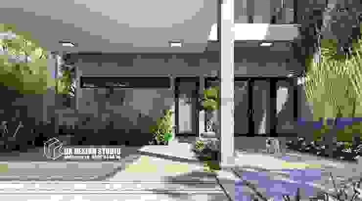Thiết kế sân vườn hiện đại bởi UK DESIGN STUDIO - KIẾN TRÚC UK Hiện đại