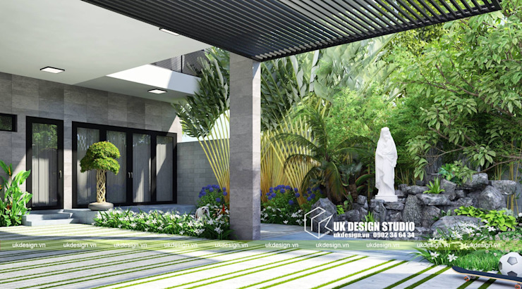 by UK DESIGN STUDIO - KIẾN TRÚC UK Modern