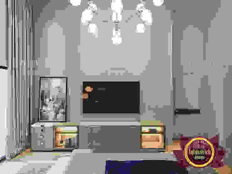 Rich Contemporary Bedroom Design by Luxury Antonovich Design