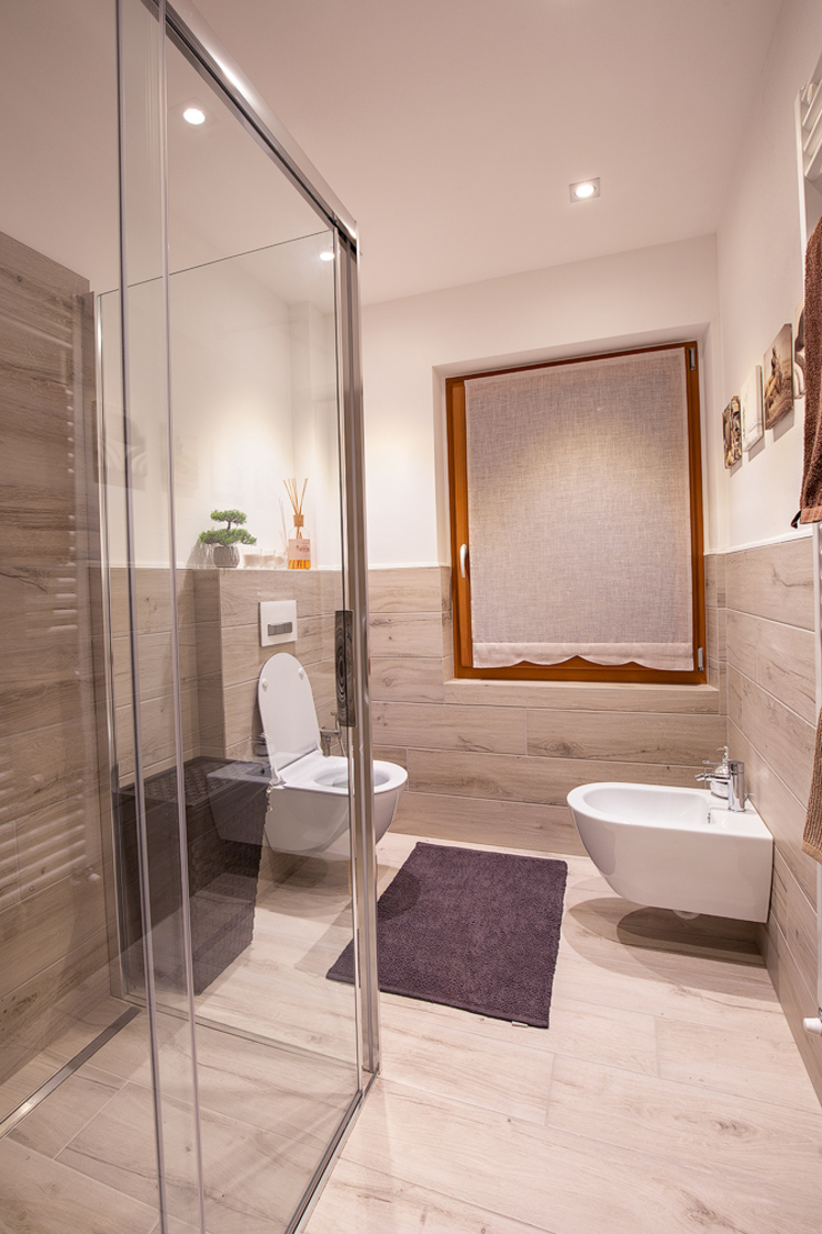 BEARprogetti - Architetto Enrico Bellotti Modern Bathroom