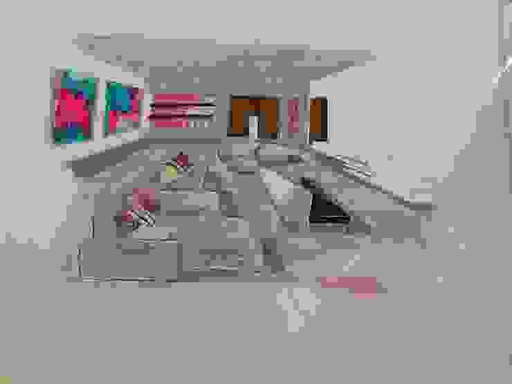 Sketch Moradia Algarve 2013 por Atelier Ana Leonor Rocha