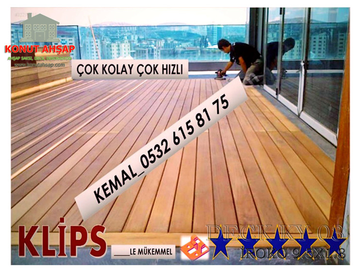 by konutahsap Tropical Wood-Plastic Composite
