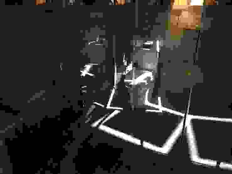 진주 소진담 인더스트리얼 욕실 by 캐러멜라운지 인더스트리얼