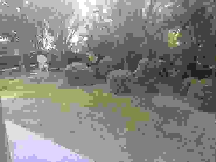 Jardín trasero (Inicial) Nosaltres Toquem Fusta S.L.