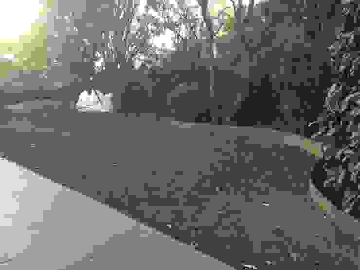 Jardín trasero (Ejecución) Nosaltres Toquem Fusta S.L.