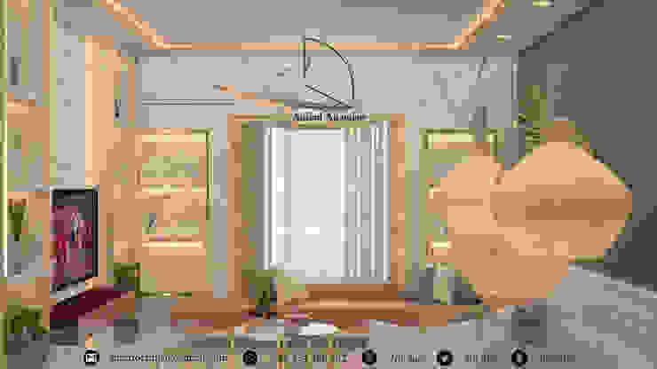 غرفة معيشة - Living room من Amjad Alseaidan كلاسيكي رخام