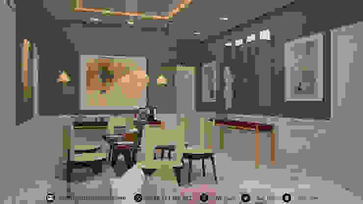 غرفة معيشة - Living room من Amjad Alseaidan كلاسيكي ذهب/فضة