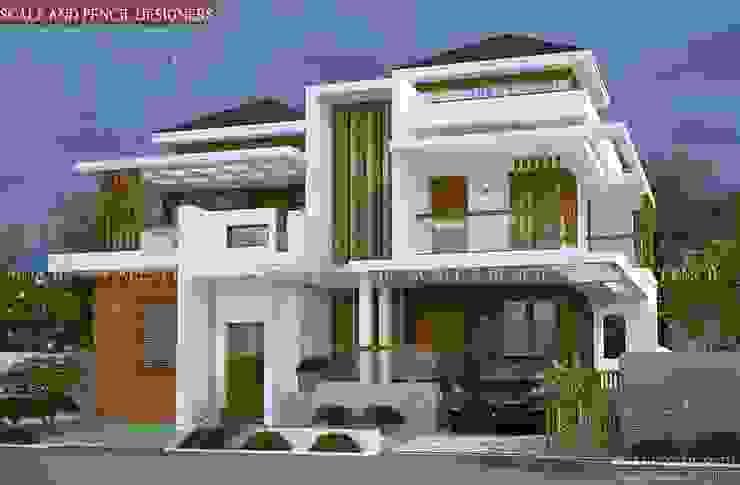 Attractive contemporary home designs Scale And Pencil