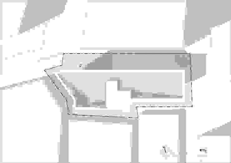 필운동 단독주택(협소주택) 서랍: (주)건축사사무소 더함 / ThEPLus Architects의 현대 ,모던