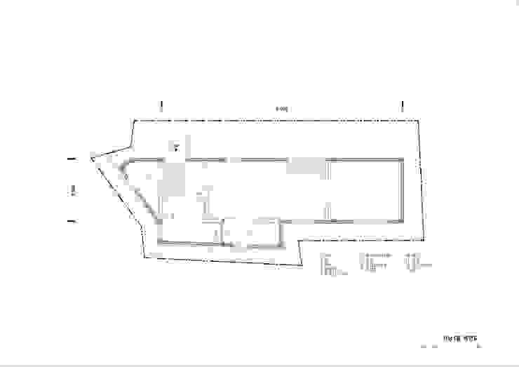 1층평면도: (주)건축사사무소 더함 / ThEPLus Architects의 현대 ,모던