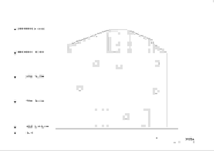 입면도: (주)건축사사무소 더함 / ThEPLus Architects의 현대 ,모던