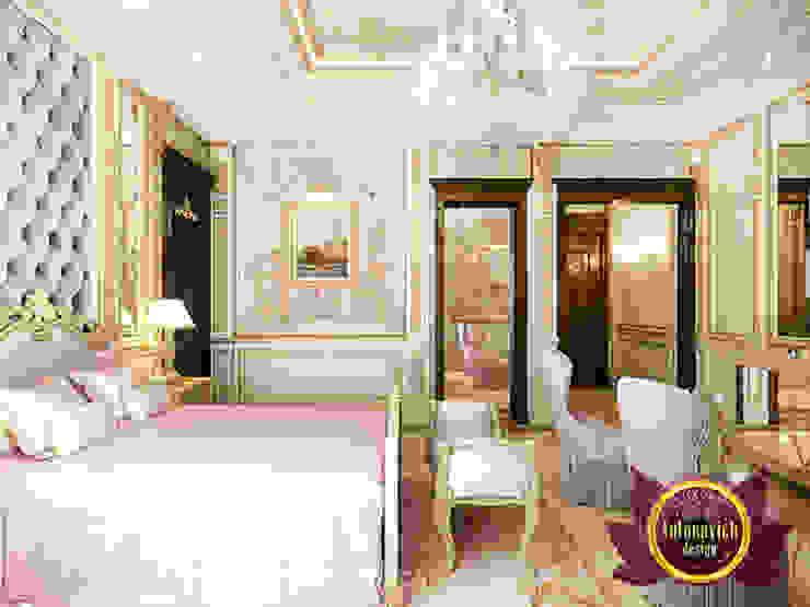 Fine Exquisite Bedroom Interior by Luxury Antonovich Design