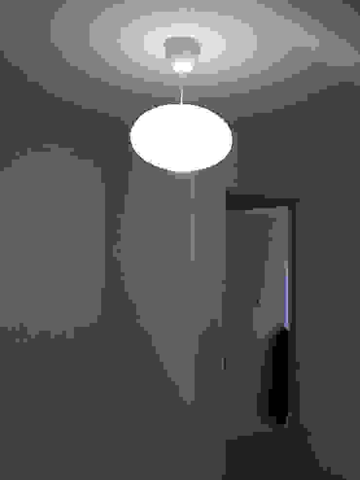 Home Office Pasillos, vestíbulos y escaleras minimalistas de Manga Urbana Minimalista