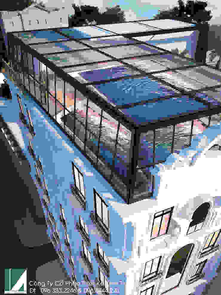 KHÁCH SẠN 7 TẦNG – TÂN CỔ ĐIỂN bởi Kiến trúc Việt Xanh