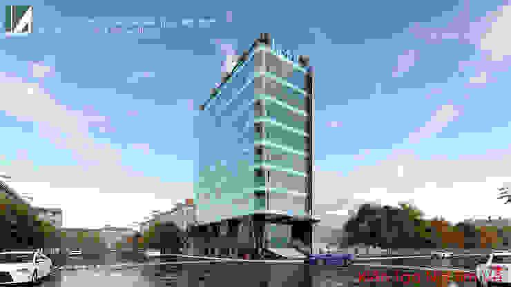 KHÁCH SẠN HIỆN ĐẠI - 8 TẦNG - HỒ SEN - LÊ CHÂN - HẢI PHÒNG. bởi Kiến trúc Việt Xanh