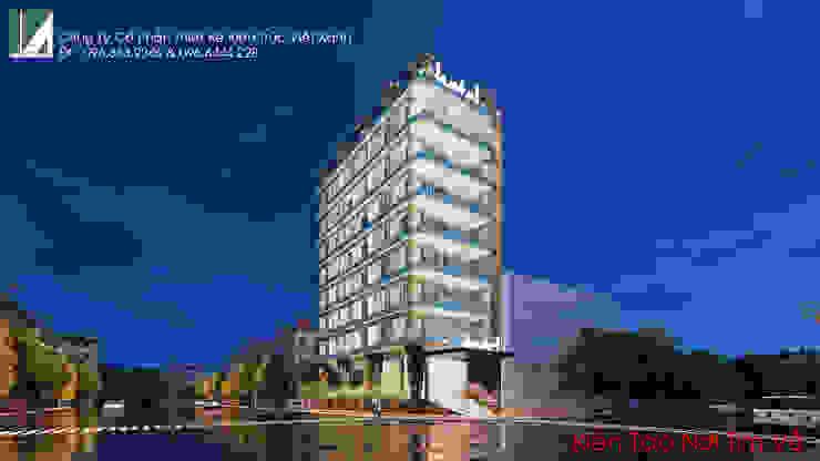 KHÁCH SẠN HIỆN ĐẠI – 8 TẦNG – HỒ SEN – LÊ CHÂN – HẢI PHÒNG. bởi Kiến trúc Việt Xanh