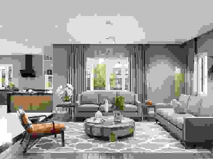 Thiết kế nội thất biệt thự hiện đại - Sang trọng đẳng cấp bởi ICON INTERIOR Hiện đại
