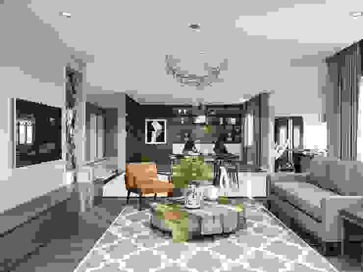 Thiết kế nội thất biệt thự hiện đại – Sang trọng đẳng cấp bởi ICON INTERIOR Hiện đại
