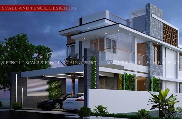 Eye catchy modern home designs Scale And Pencil