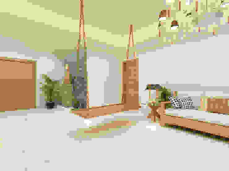 Salas modernas de Designs Combine Moderno