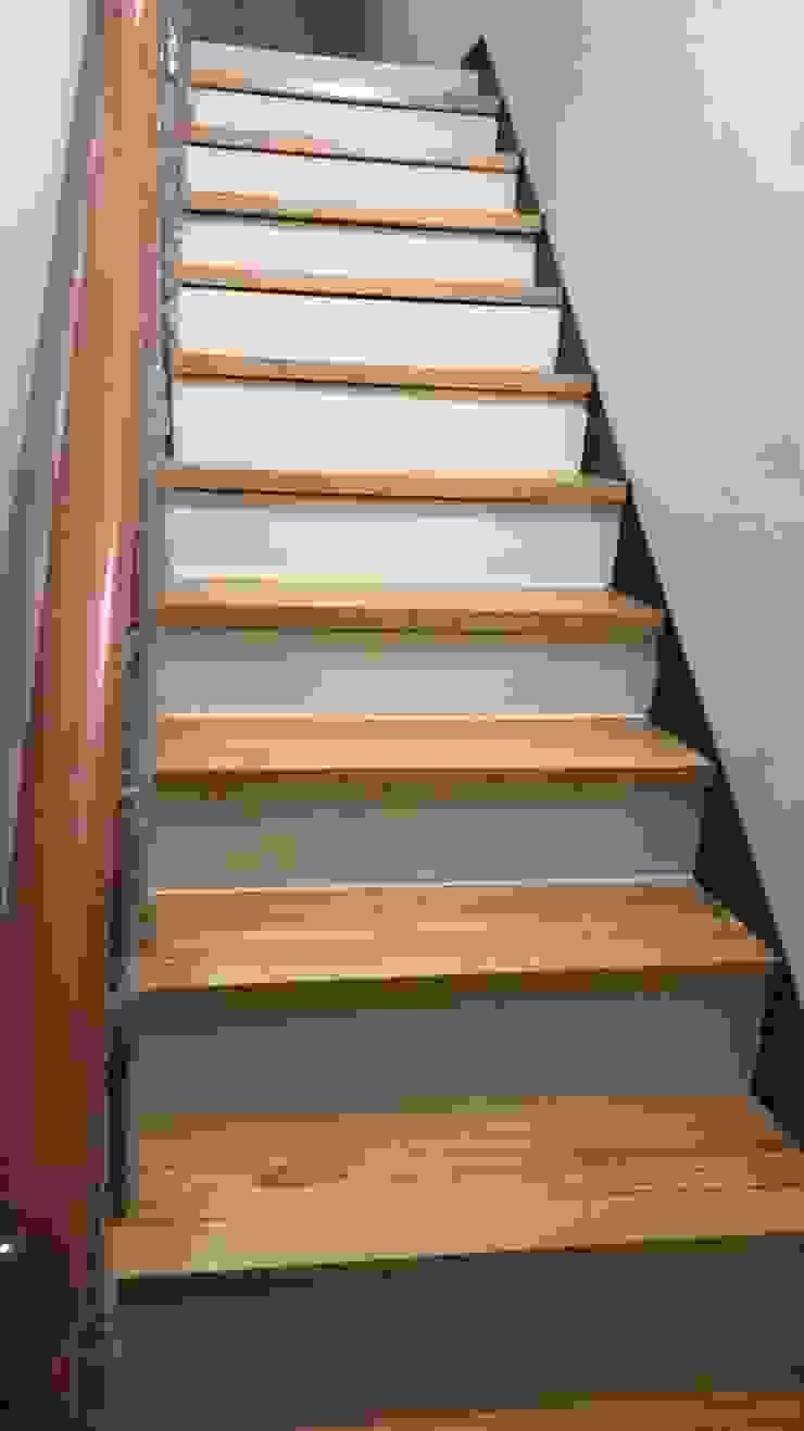 各式木質樓梯踏板 根據 茂林樓梯扶手地板工程團隊 北歐風